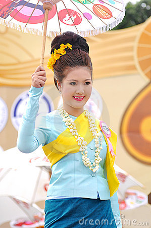 Thai lady Editorial Photography
