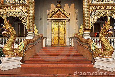 The Thai Lanna style art