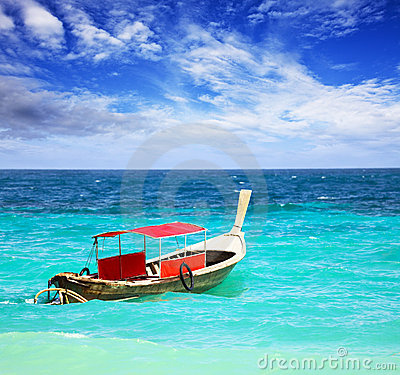 Free Thai Longtail Boat Stock Photo - 12632020