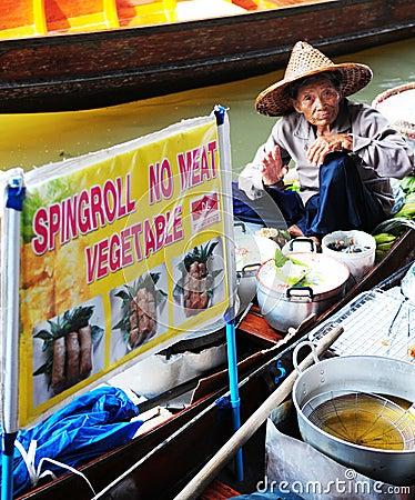Thai man Editorial Photo