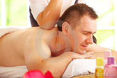 Thai massage treatment