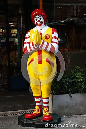 Free Thai McDonald S Stock Images - 21077874