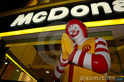 Thai McDonald s Editorial Stock Photo