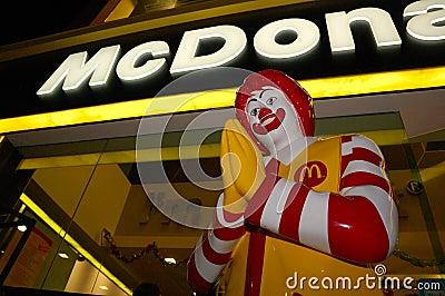 Thai McDonald s Editorial Stock Photo