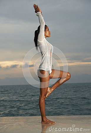 Thai Model Sunrise Yoga