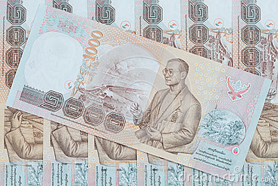 Thai money background