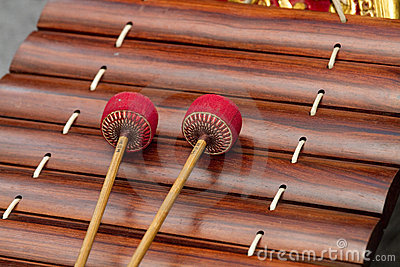 Thai musical instrument.