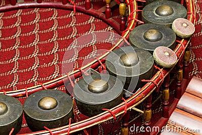 Thai musical instrument.