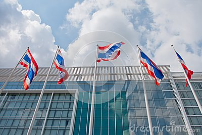 Thai national  flags