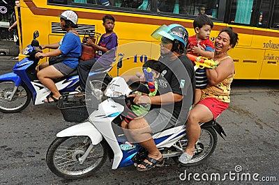 Thai New Year - Songkran Editorial Photography
