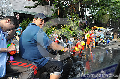 Thai New Year - Songkran Editorial Image