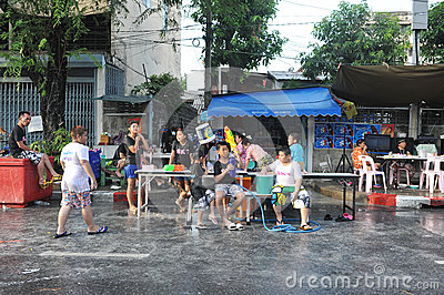 Thai New Year - Songkran Editorial Photo