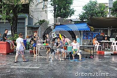 Thai New Year - Songkran Editorial Photo