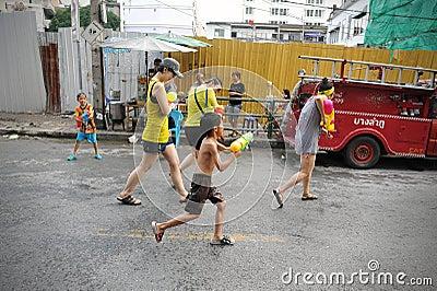 Thai New Year - Songkran Editorial Image