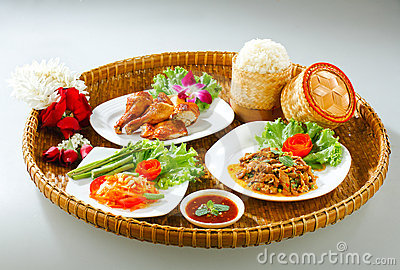 Thai Northeast food style original