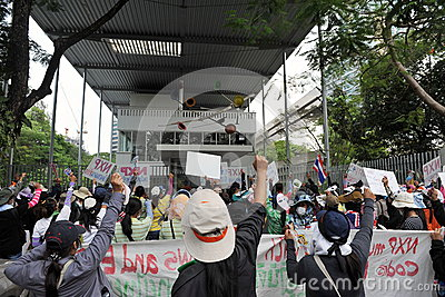 Workers Protest Editorial Photo