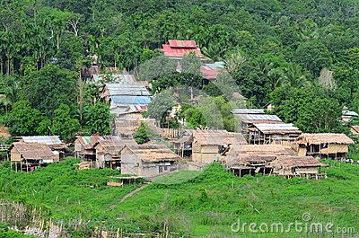 Thai old style Village