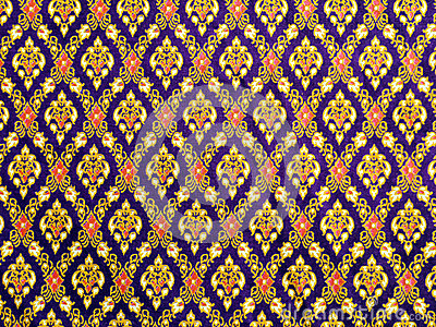 Thai pattern cloth