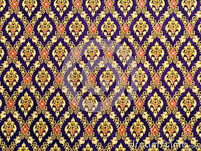 Thai pattern cloth