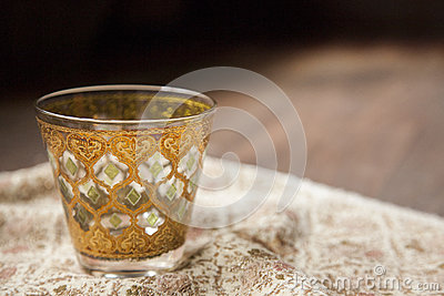 Thai pattern cup