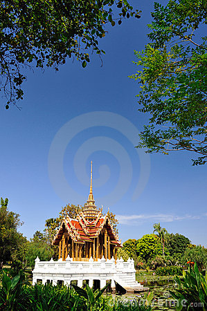 Thai pavilion ,Suan Luang Rama IX Thailand.