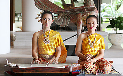 Thai performers Editorial Photo