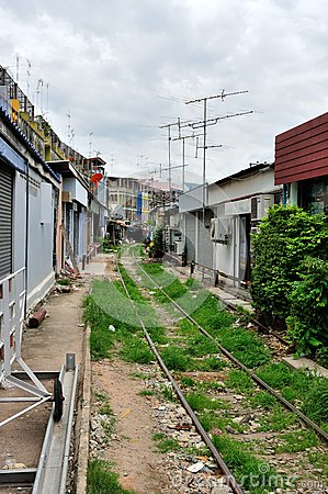 Thai Railway Editorial Photography