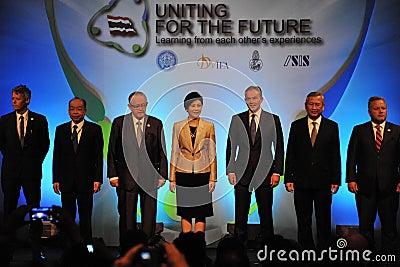 Thai Reconciliation Forum Editorial Stock Image