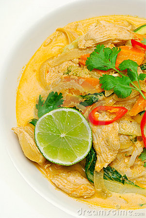 Free Thai Red Curry Royalty Free Stock Photos - 13172538