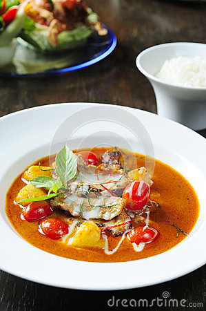 Thai Red Duck Curry Stock Photos - Image: 26963693