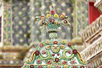 Thai religious ceramic