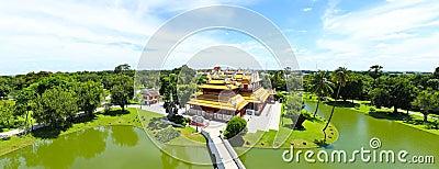 Thai Royal Residence at Bang Pa-In Royal Palace