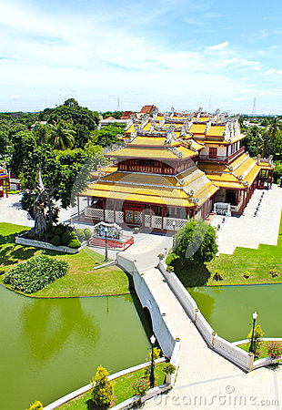 Thai Royal Residence at Bang Pa-In Royal Palace