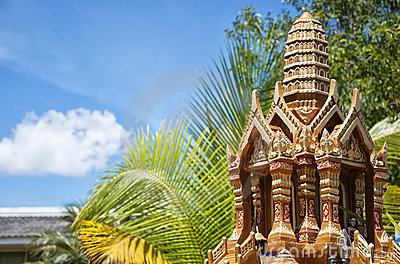 Thai spirit house 03