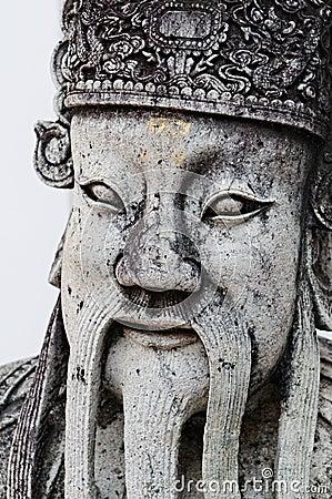 Thai statue detail