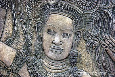 Thai stone carving