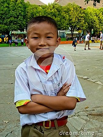 ○ Thai student life style in Thai school. Editorial Photo