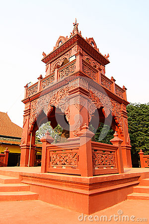 Thai Style Bell Tower