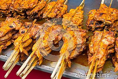 Thai Style Chicken Grill