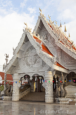 Thai style ornament in temple