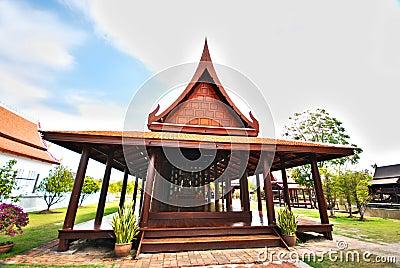 The Thai style pavilion
