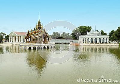 Thai style pavilion, Bang-Pa-In Palace ,Thailand