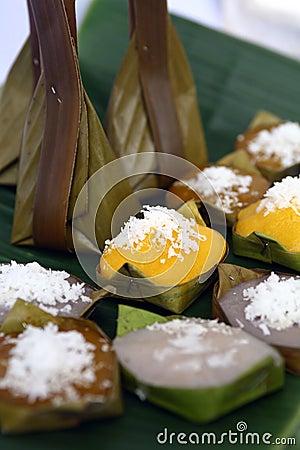 Thai style sweet desserts