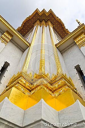 Free Thai Temple Church Wall Royalty Free Stock Photos - 16303378