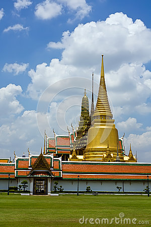 Thai temple in Grand Palace, Bangkok