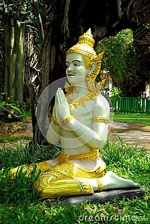 Thai Temple in Roi Et province