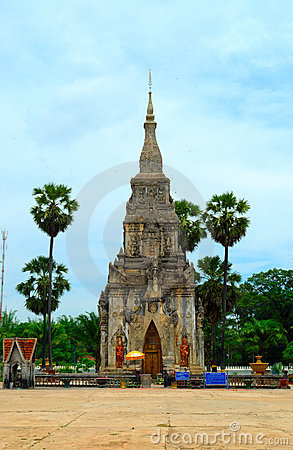 Thai Temple in Roi Et province