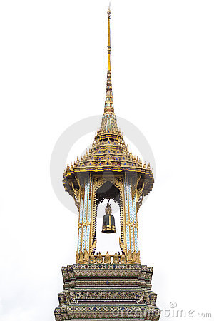 Free Thai Temple S Bell Royalty Free Stock Photography - 20057487