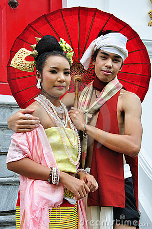 Thai Traditional Dress Editorial Image