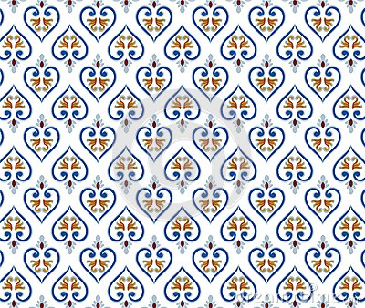 Thai traditional style art pattern Vector Illustration